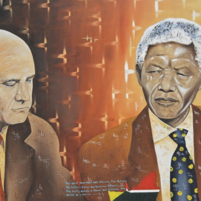 """Builders"" of democracy: Frederik Willem de Klerk and N. Mandela"