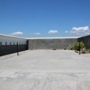 Courtyard of Robben Island Prison