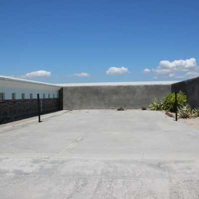 Courtyard of Robben Island Prison